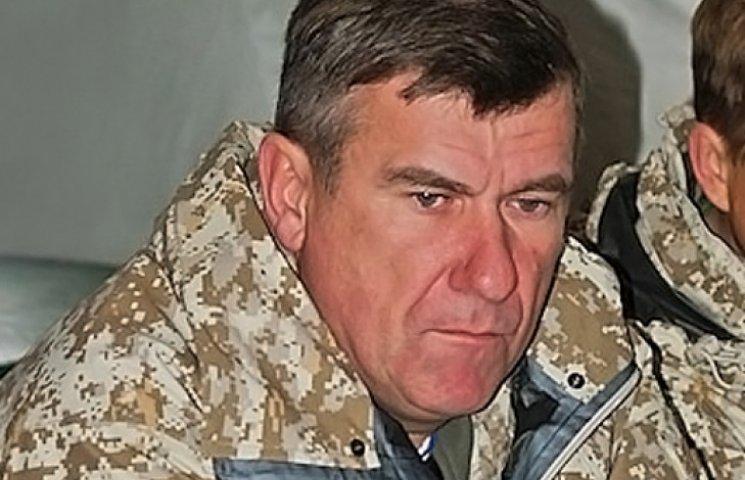 Під Дебальцевим засвітився на камеру заступник командувача сухопутних військ РФ