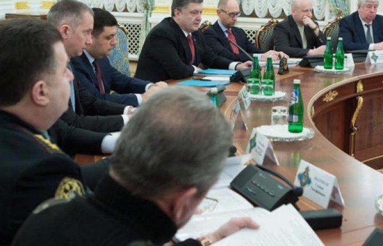 СНБО решил пригласить в Украину миротворцев ООН