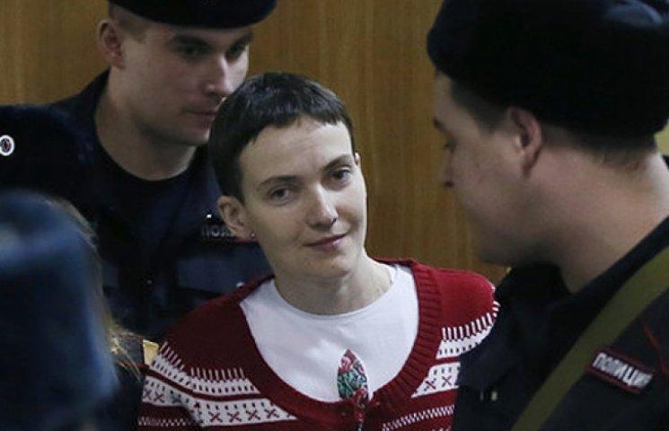У Савченко почалися проблеми з нирками і жовчним міхуром