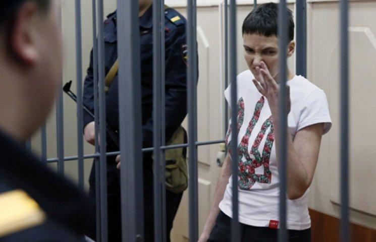 В России правозащитница при президенте предрекает Савченко скорую смерть