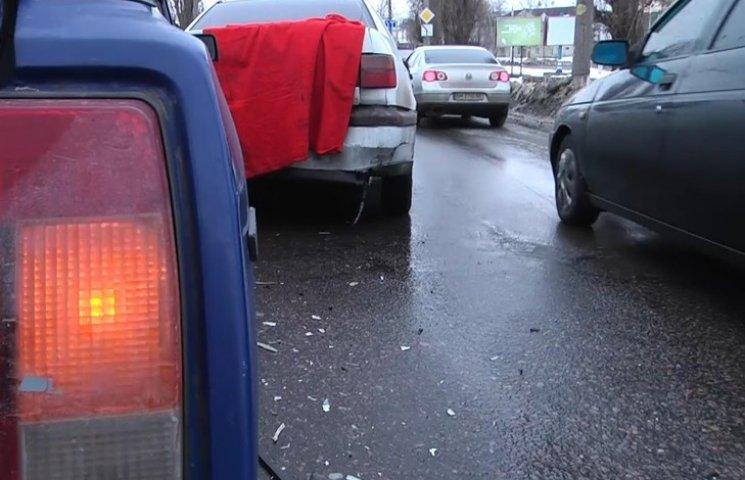 У Сумах нетверезий водій скоїв потрійне ДТП та втік