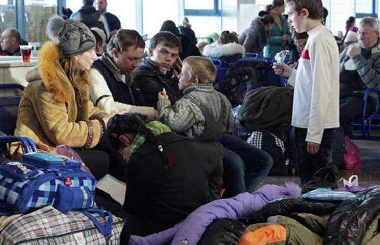 В Сумській області перебувають майже 16,5 тисяч біженців з Донбасу та Криму