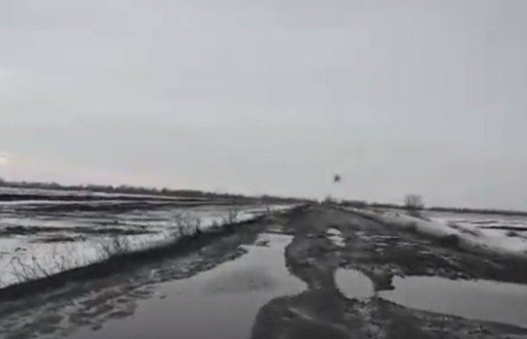 Через відсутність дороги Снігурівщина може залишитися відрізаною від Миколаєва