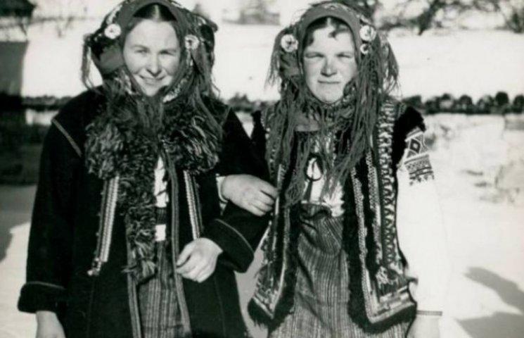Як виглядали прикарпатці взимку на початку минулого століття