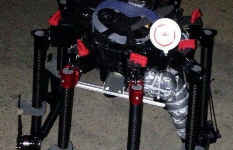 В Ужгороді затримали автомобіль з дроном-контрабандистом