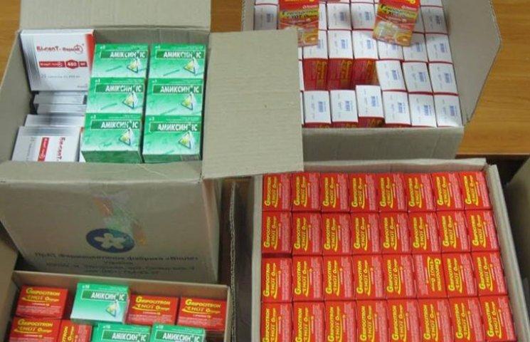 В Попасну на Луганщину хмельничани відправили ліки