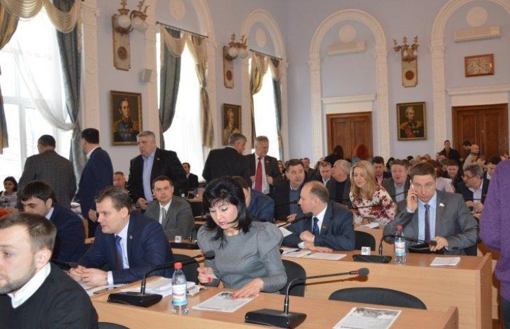 У Миколаєві депутати почубились, вирішуючи долю рекреаційних зон