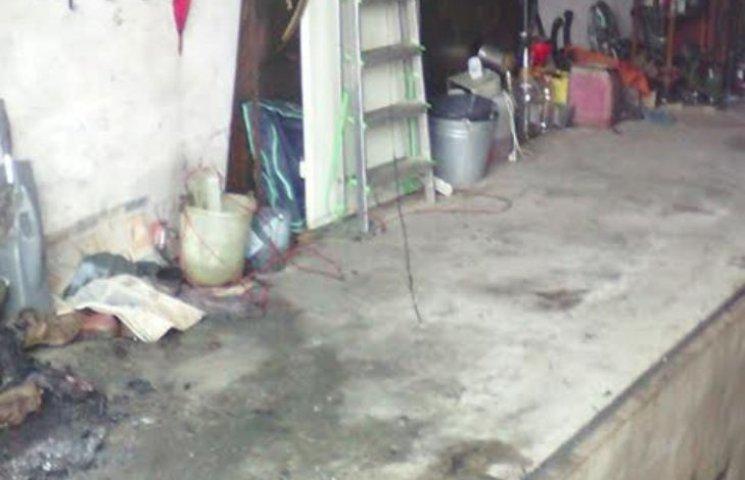На Миколаївщині чоловік врятував з палаючого гаражу свою машину