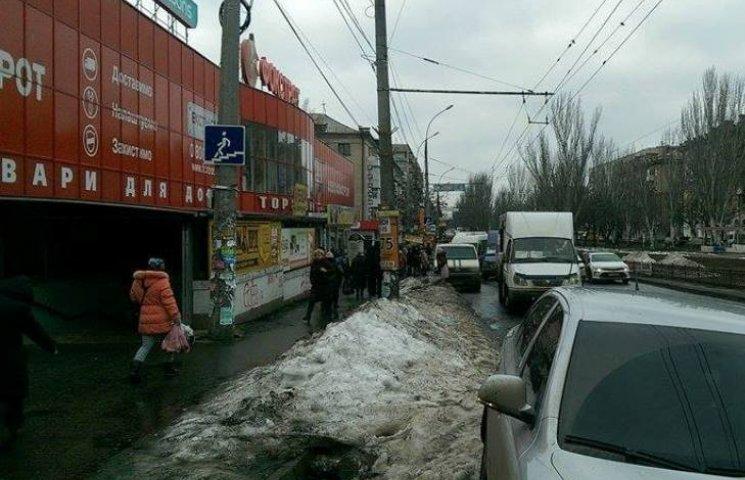 У Миколаєві маршрутки не можуть під