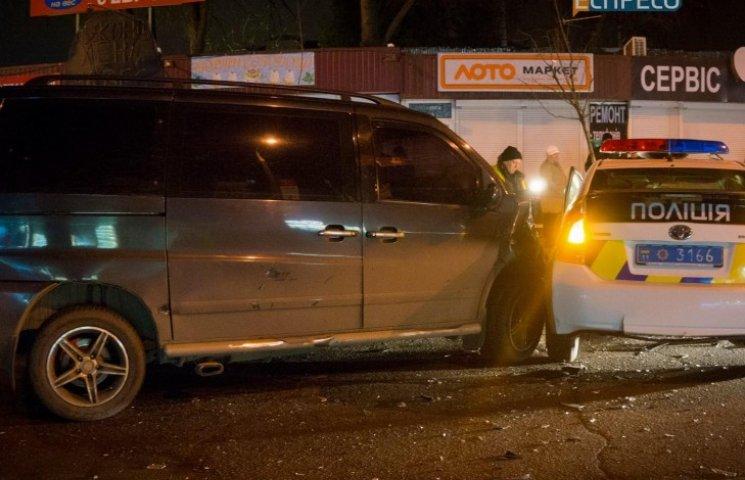 У Києві сталася аварія за участю поліцейських