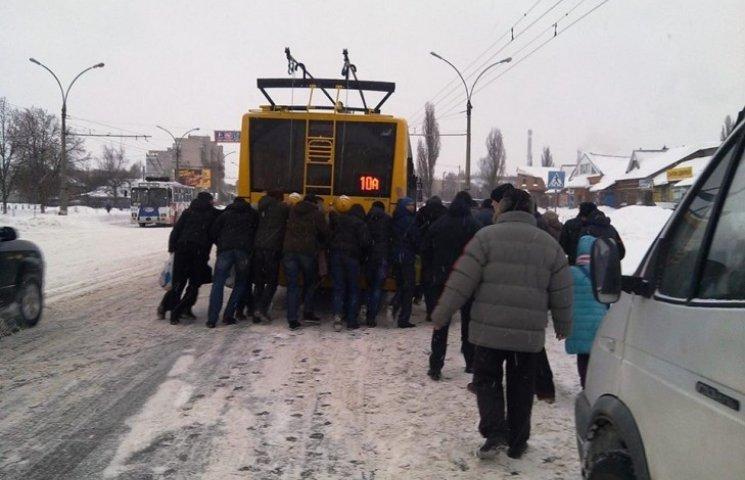 У Сумах збунтувалися тролейбусники