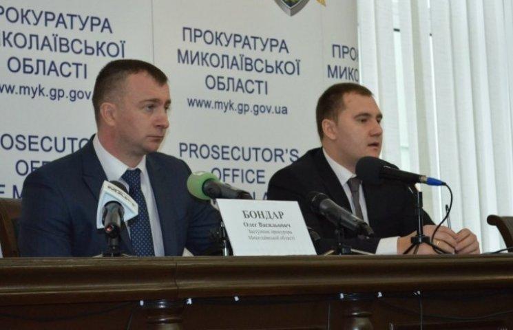 Начальника Миколаївської облполіції допитали по справі хабарниці-інваліда