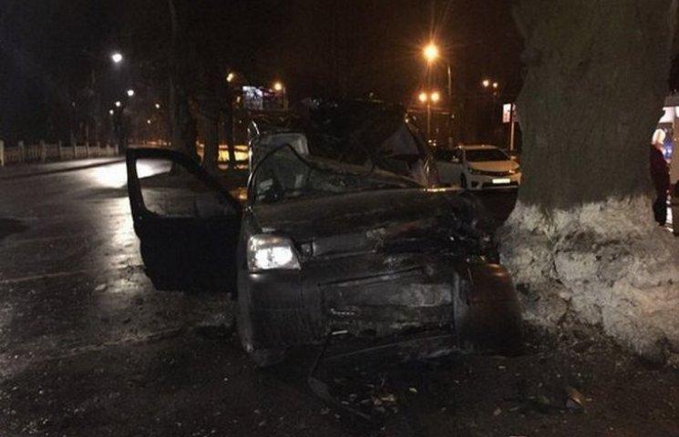 У Вінниці на Хмельницькому шосе сталась смертельна аварія