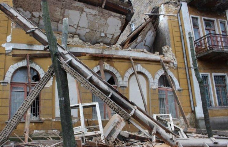 У Миколаєві завалилась будівля біля школи фехтування, де навчалась Харлан