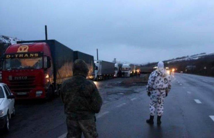 Блокада російських фур в Україні (ХРОНІКА)
