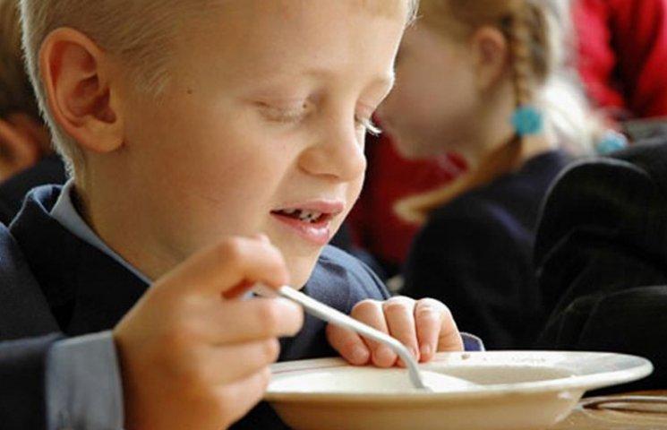 На Запоріжжі школярів будуть годувати на 6 грн. в день
