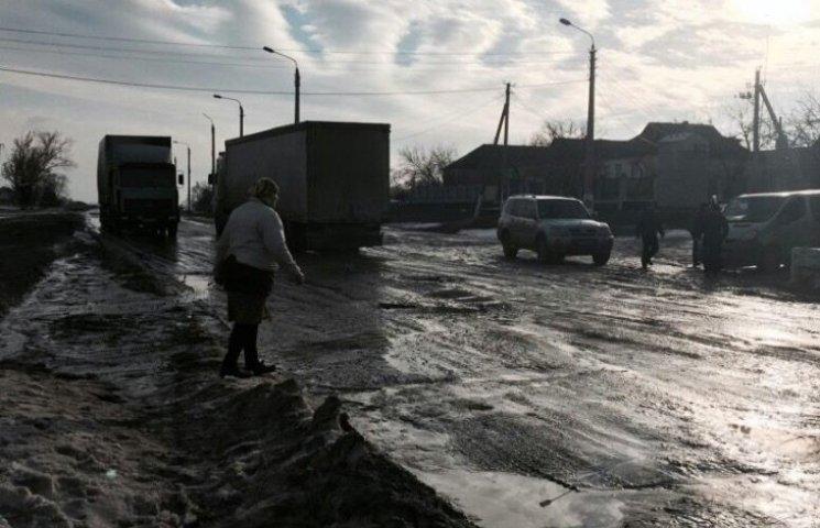 Місцеві жителі розблокували кіровоградську трасу Н-14