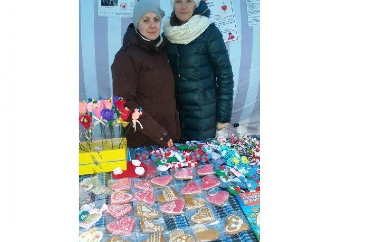 Волонтери Нетішинської Самооборони розпочали у місті благодійний ярмарок