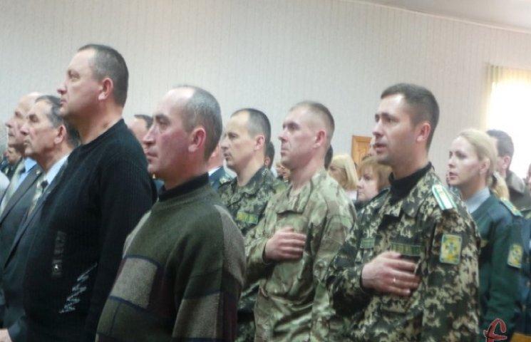 Прикордонники Хмельницького вшанували афганців
