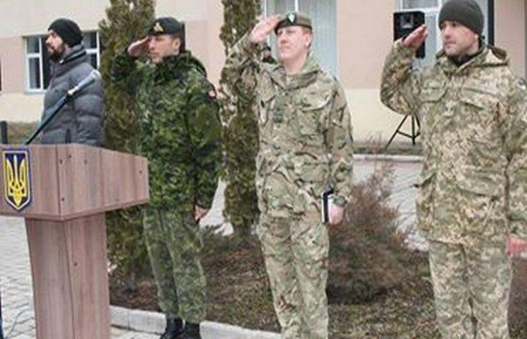 Канадські інструктори завершили курс у Центрі розмінування ЗСУ на Хмельниччині