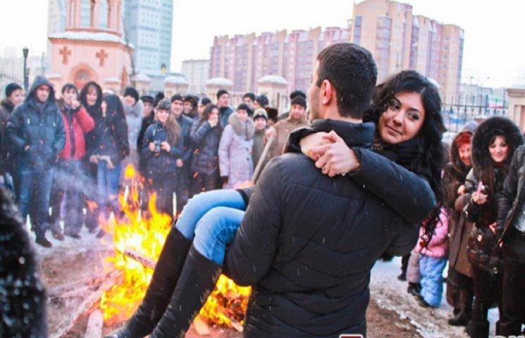 """Сьогодні у вірмен теж свято любові - """"Терндез"""""""