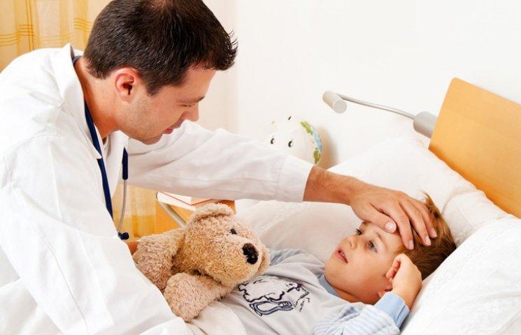 У Сумах з грипом та ГРВІ госпіталізовали 101 дитину