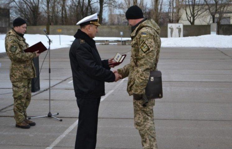 Миколаївським морським спецпрізначенцям вручили державні та відомчі нагороди
