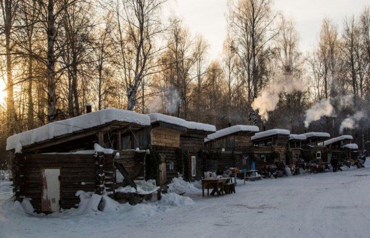 Як виглядає базар на 40-градусному морозі у Сибіру