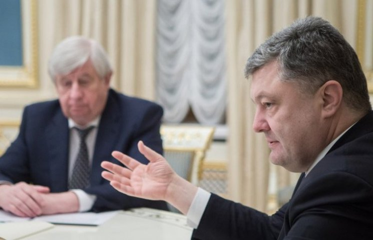 """Президент хочет обменять """"пустышку"""" Шокина на голову Яценюка"""