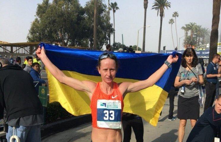 Спортсменка з Тернопільщини виграла марафон в Лос-Анджелесі
