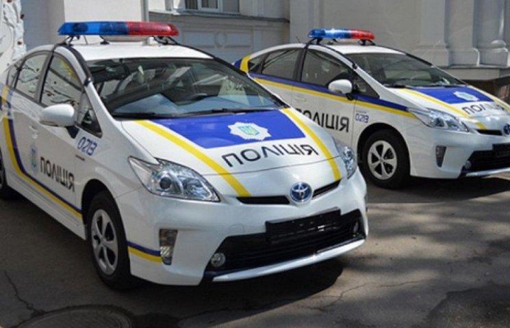 """На Запоріжжі у поліцейських продовжують забирати нові """"Пріуси"""""""