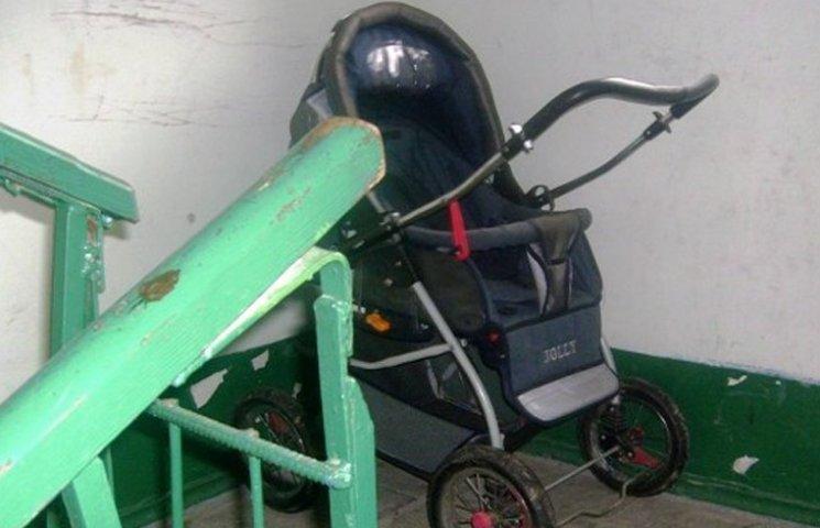 Чоловік вкрав дитячий візок для подарунку вагітній дружині