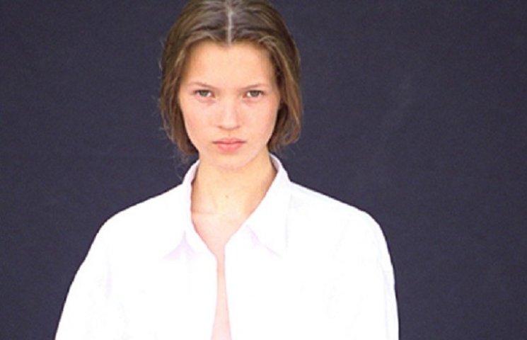 В сети появилась первая фотосессия 14-летней Кейт Мосс