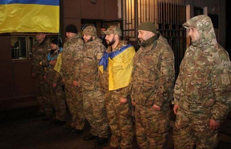 """Спецпідрозділ """"Фантом"""" повернувся до Вінниці з зони АТО"""