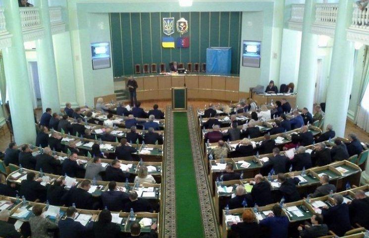 Голова Хмельницької облради знов залишився без заступників