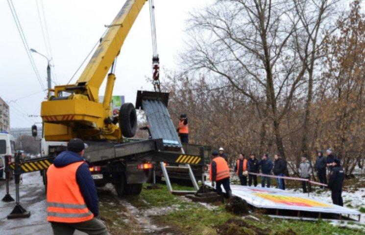 У Миколаєві знесуть більше 70 незаконних білбордів та сітілайтів
