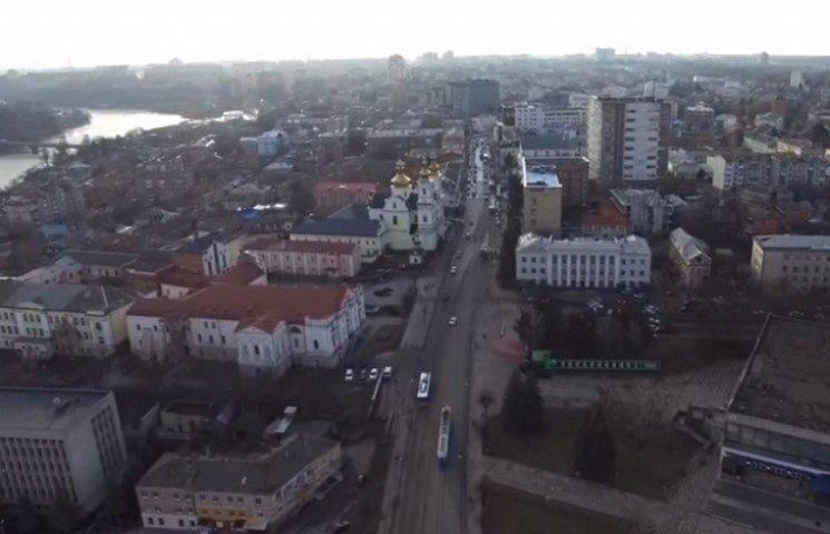 Відеоролик про Вінницю відзняли з безпілотника