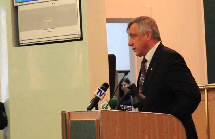 Очільник Хмельницької облради не впорався з депутатами Гереги