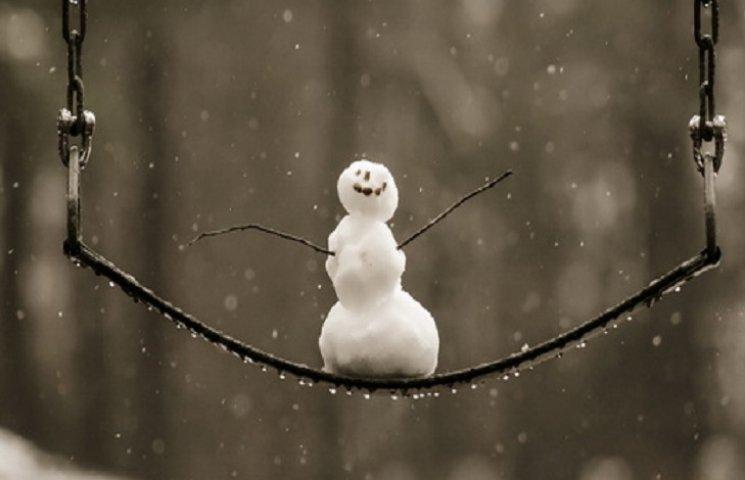 Вранці йтиме сніг