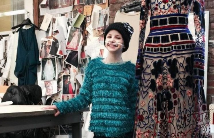 11-летняя девочка, больная раком, дефилировала в Нью-Йорке на Неделе моды