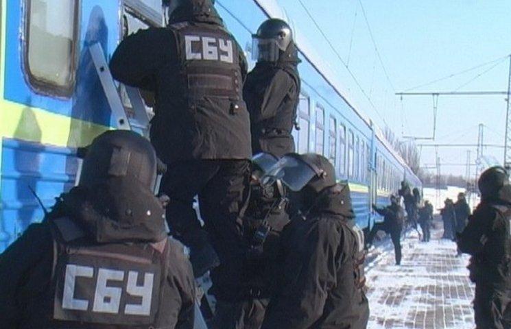 """Вінницькі сбушники не пустили потяг з металобрухтом для так званої """"ДНР"""""""