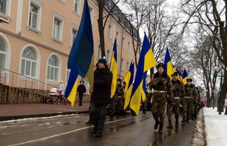 У Хмельницькому сотні містян пройшли скорботною ходою