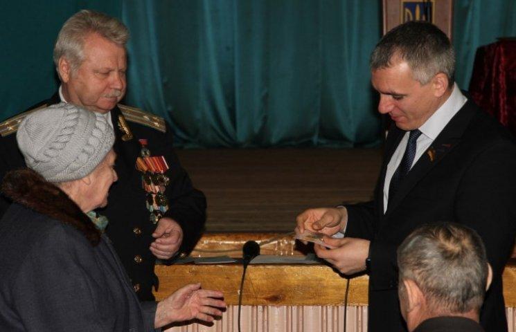 Миколаївські ветерани отримали відзнаки Президента України