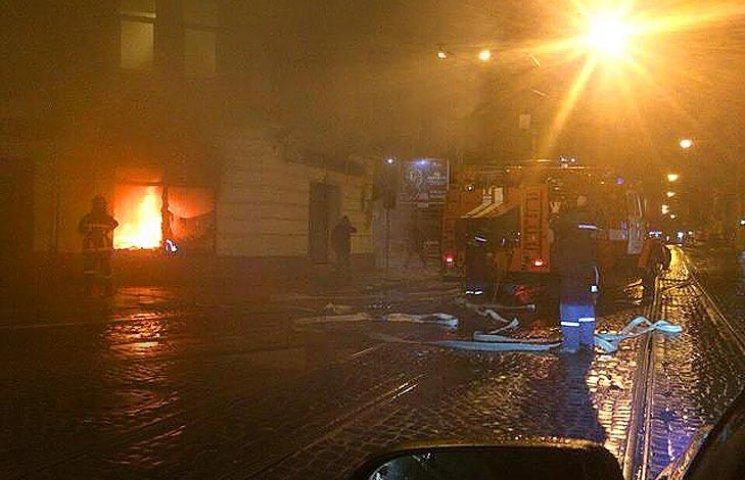 Стали известны подробности поджога российских банков во Львове