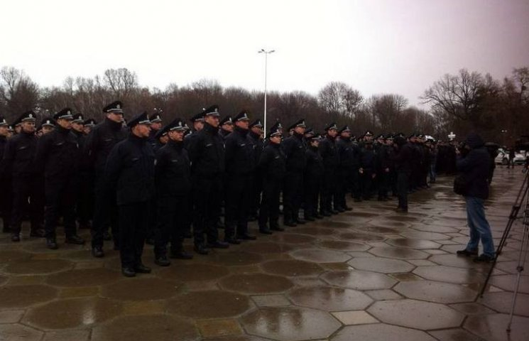 Винницкая полиция готовится к принятию присяги