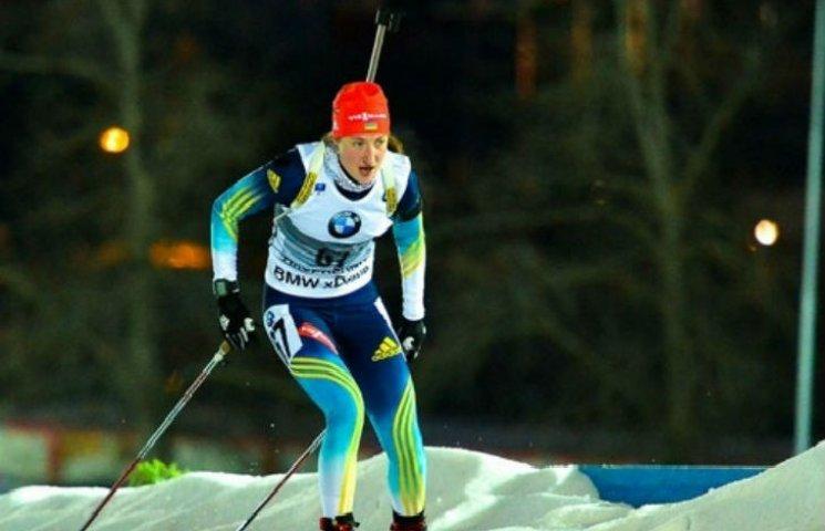 Екс-біатлоністка збірної України захищає Абрамову