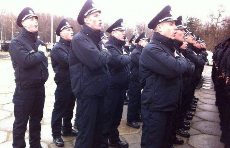 Вінницькі поліцейські присягнули на вірність українському народу
