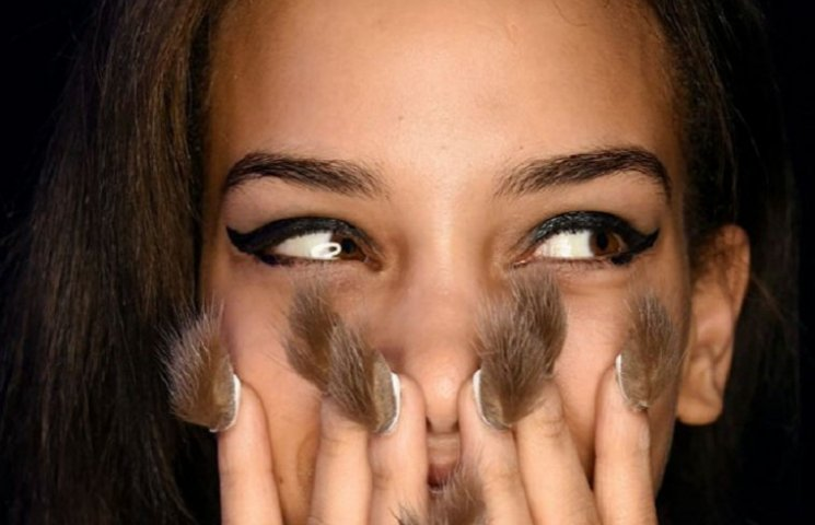 Волосатые ногти становятся главным трендом этого года