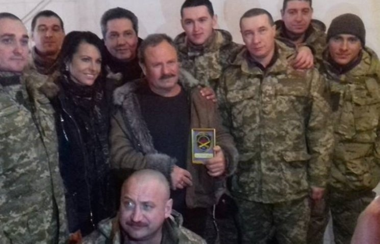 """Композитор-""""ватник"""" Бистряков привітав українських солдат з 23 лютого"""