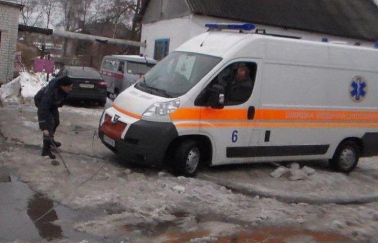 У Тернополі евакуювали дитячу лікарню